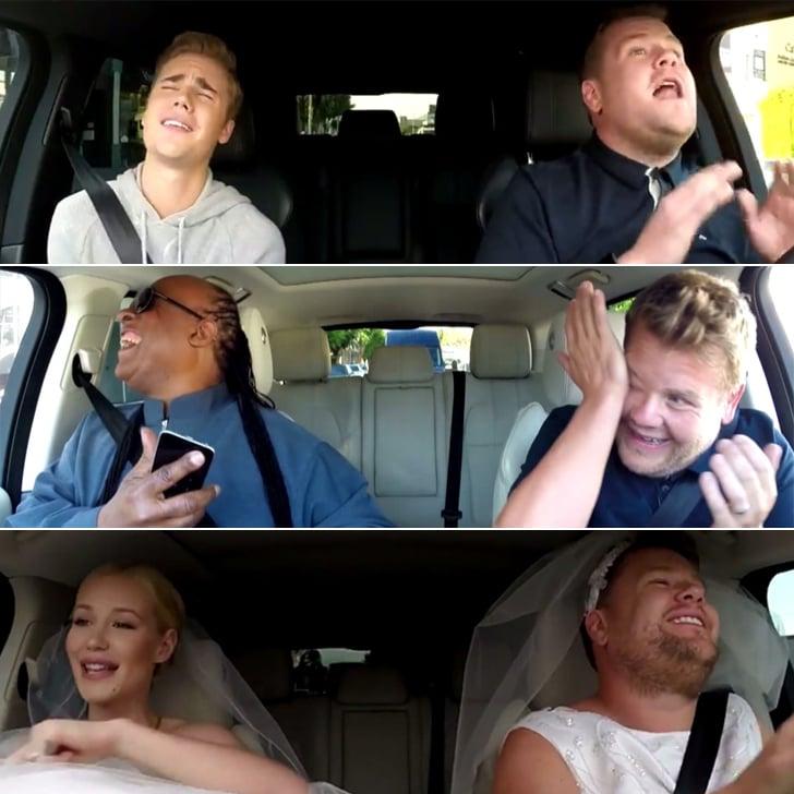 All Of James Corden S Carpool Karaoke Videos Popsugar Celebrity