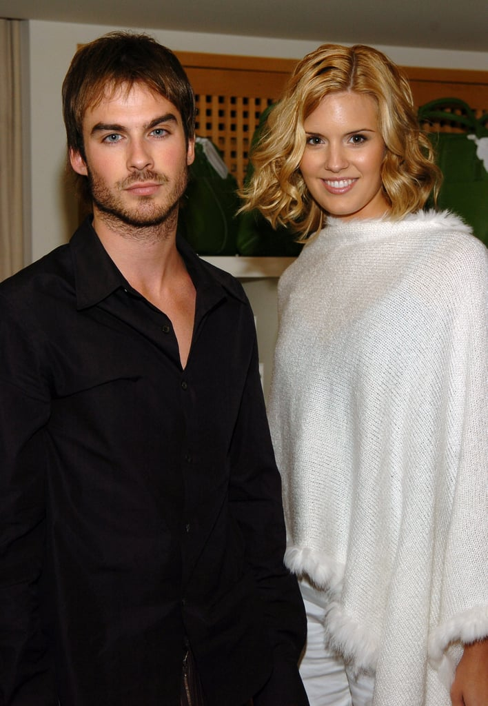 Ian Somerhalder and Maggie Grace