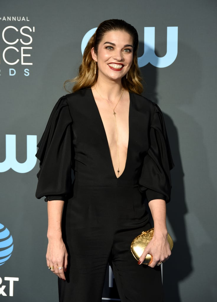 Annie Murphy at the 2019 Critics' Choice Awards | Schitt's