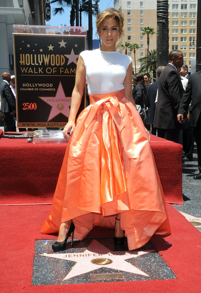 Jennifer Lopez in White Dior Top