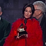 Kacey Musgraves Wins Album Of The Year | 2019 GRAMMYs Acceptance Speech