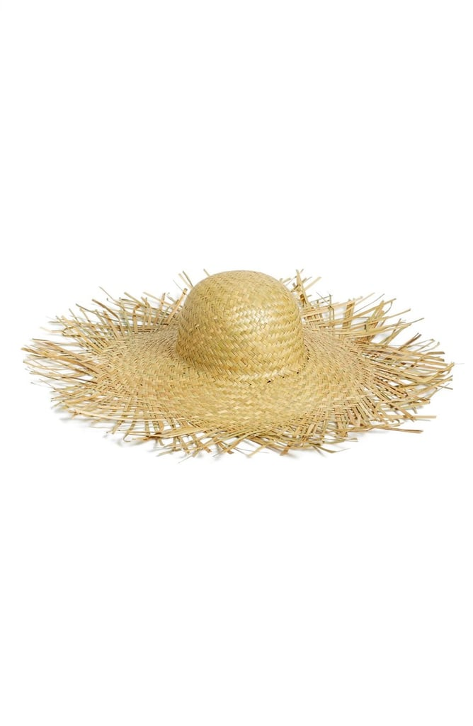Women's Lack of Color The Russo Frayed Straw Hat — Beige ($89)
