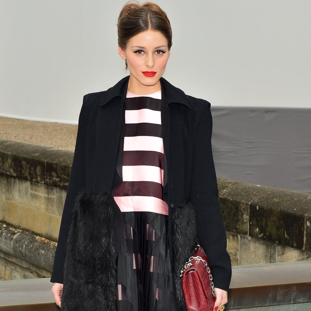 Olivia Palermo Dons Dior by Raf Simons to Paris Fashion Week
