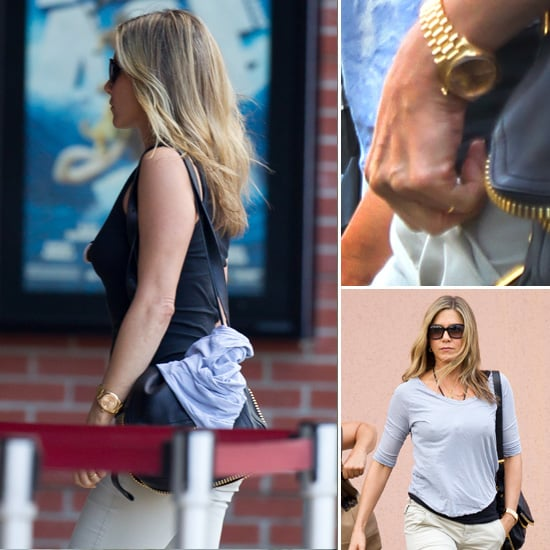 Jennifer Aniston Engagement Ring Pictures