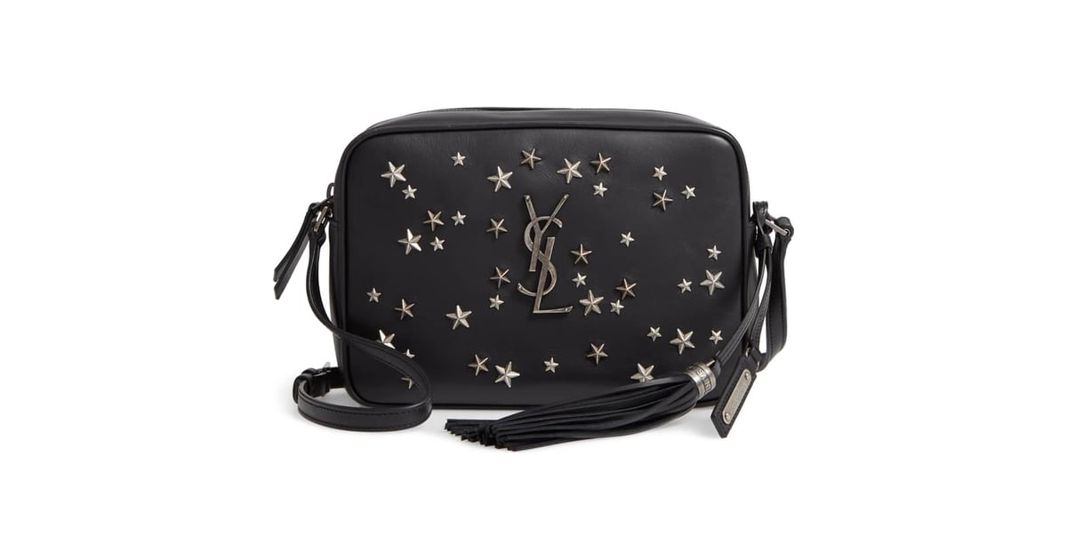d66a47aded Saint Laurent Medium Lou Star Studded Calfskin Leather Camera Bag | Star  Products For Women | POPSUGAR Love & Sex Photo 9