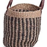 Large Natural Seagrass Basket