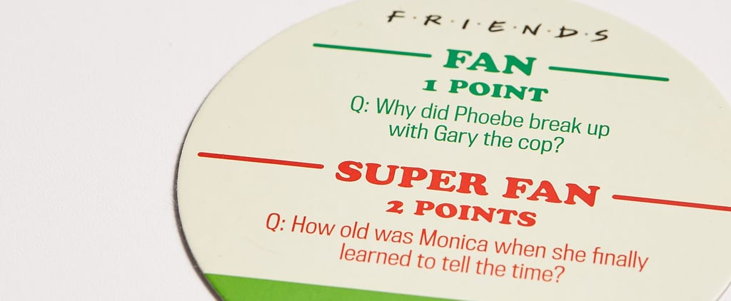 These Friends Trivia Coasters Have Seriously Hard Questions
