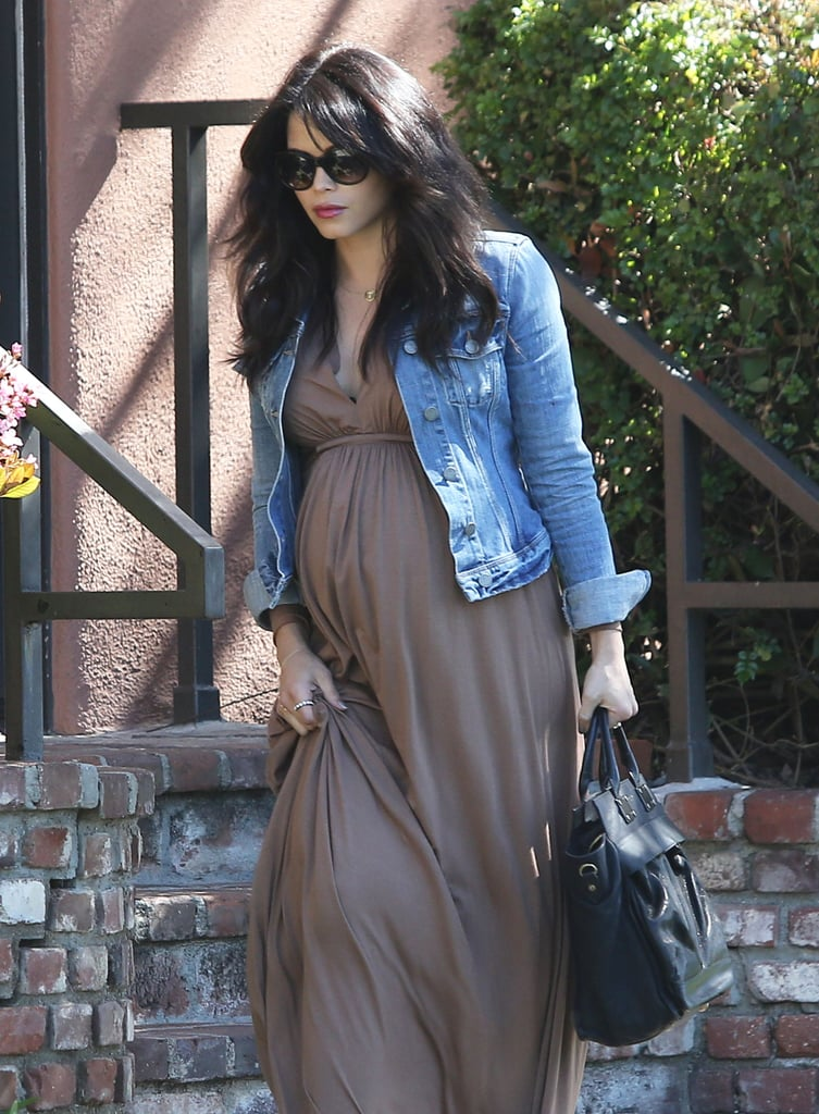 Jenna Dewan Flaunts Her Growing Baby Bump in LA