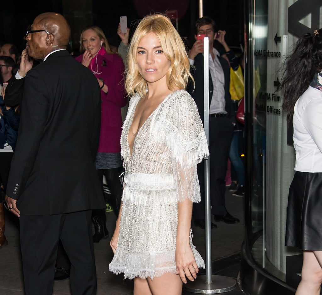 Sienna Miller in Rodarte Minidress