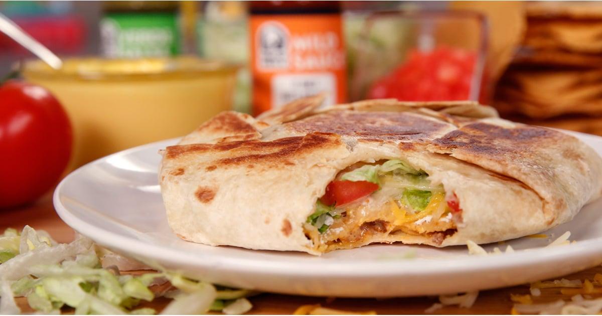 Taco Bells Crunchwrap Supreme Recipe Popsugar Food