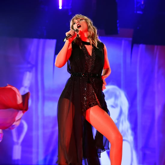 Taylor Swift Talks About Snake Reputation at Concert