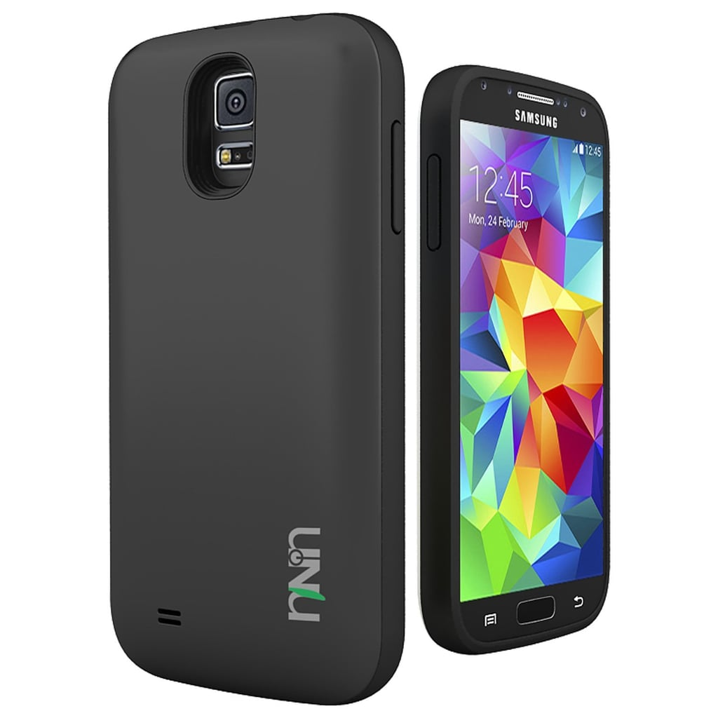Built for the Samsung Galaxy S5, the UNU Unity Battery Case  ($70, originally $90), is NFC-enabled so that you can do all your usual phone tasks while charging with the case on.