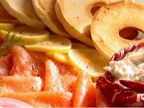 Smoked Salmon and Whitefish Salad Platter