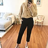 Old Navy Mid-Rise Pull-On Straight Pants