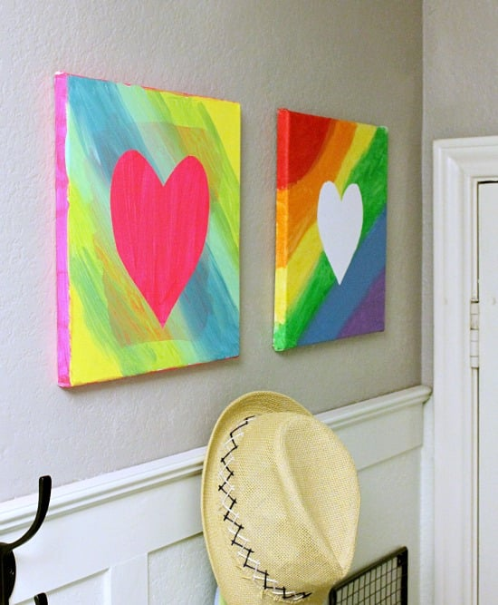 Canvas Art Projects For Kids Popsugar Family