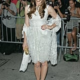 Jessica Biel Wearing White at Total Recall's NYC Premiere