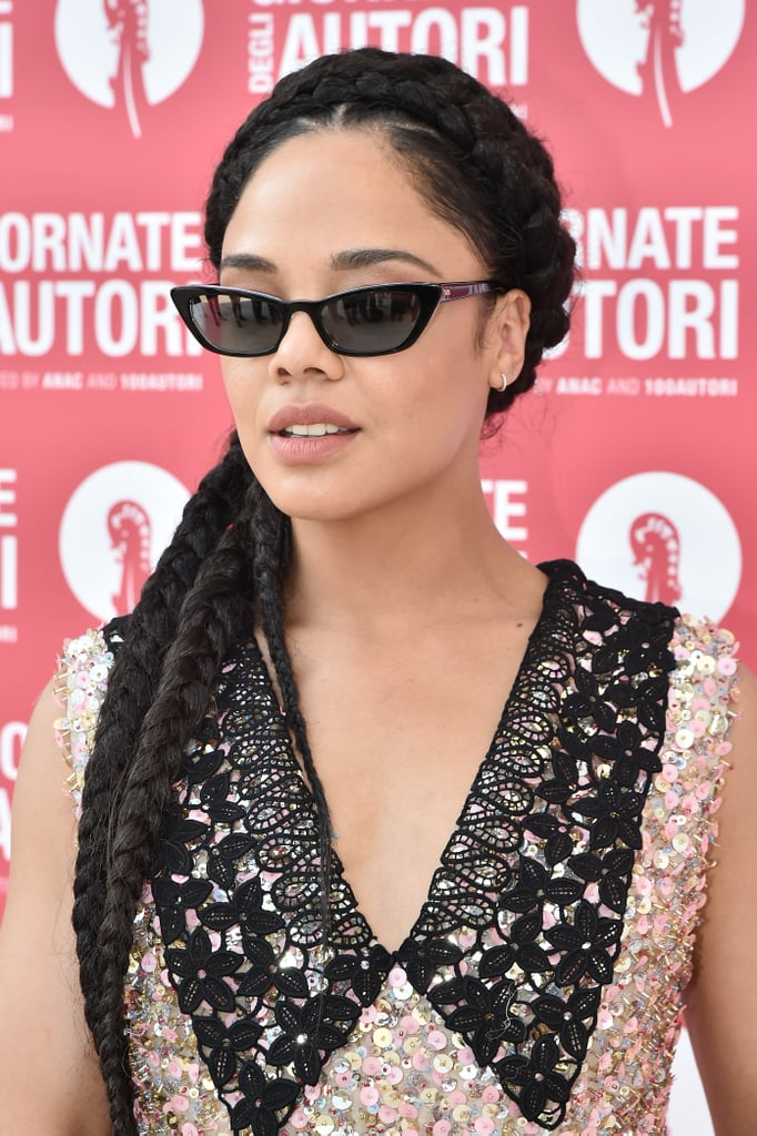 Tessa Thompson in A Chunky Braided Crows (Colour 1B)