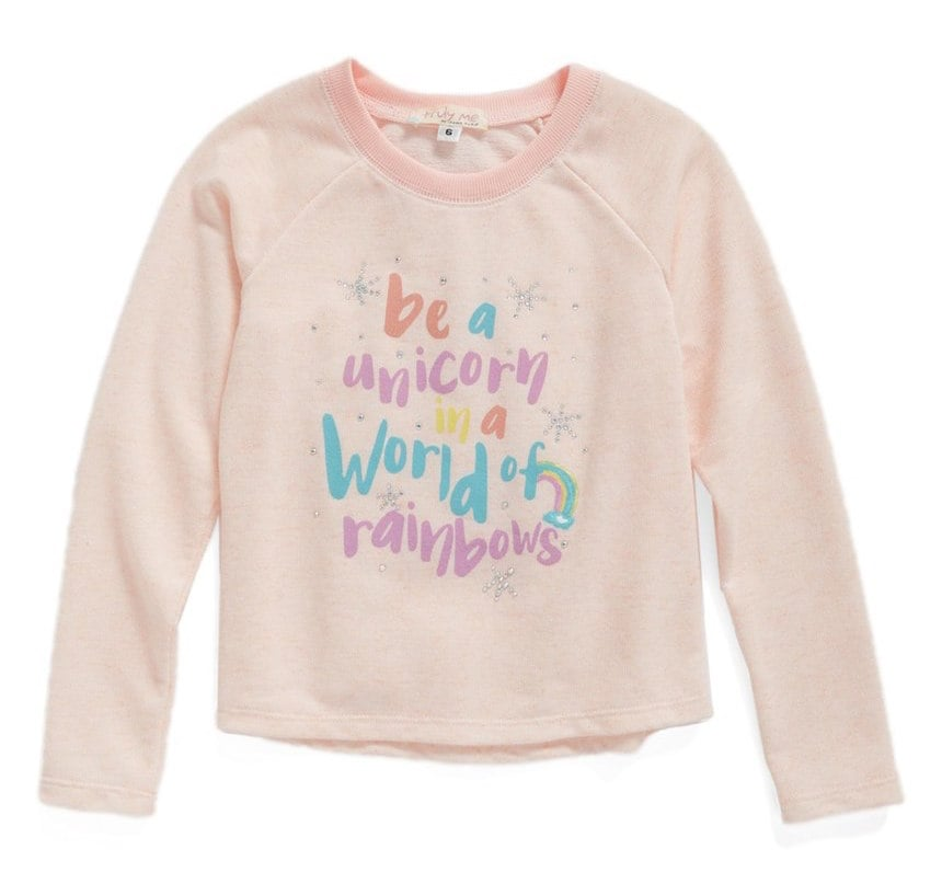 Unicorn Graphic Sweatshirt