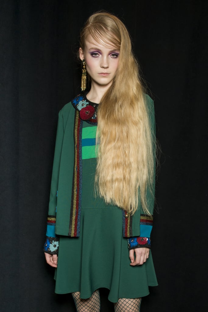 Bigger Is Better Hair at Anna Sui