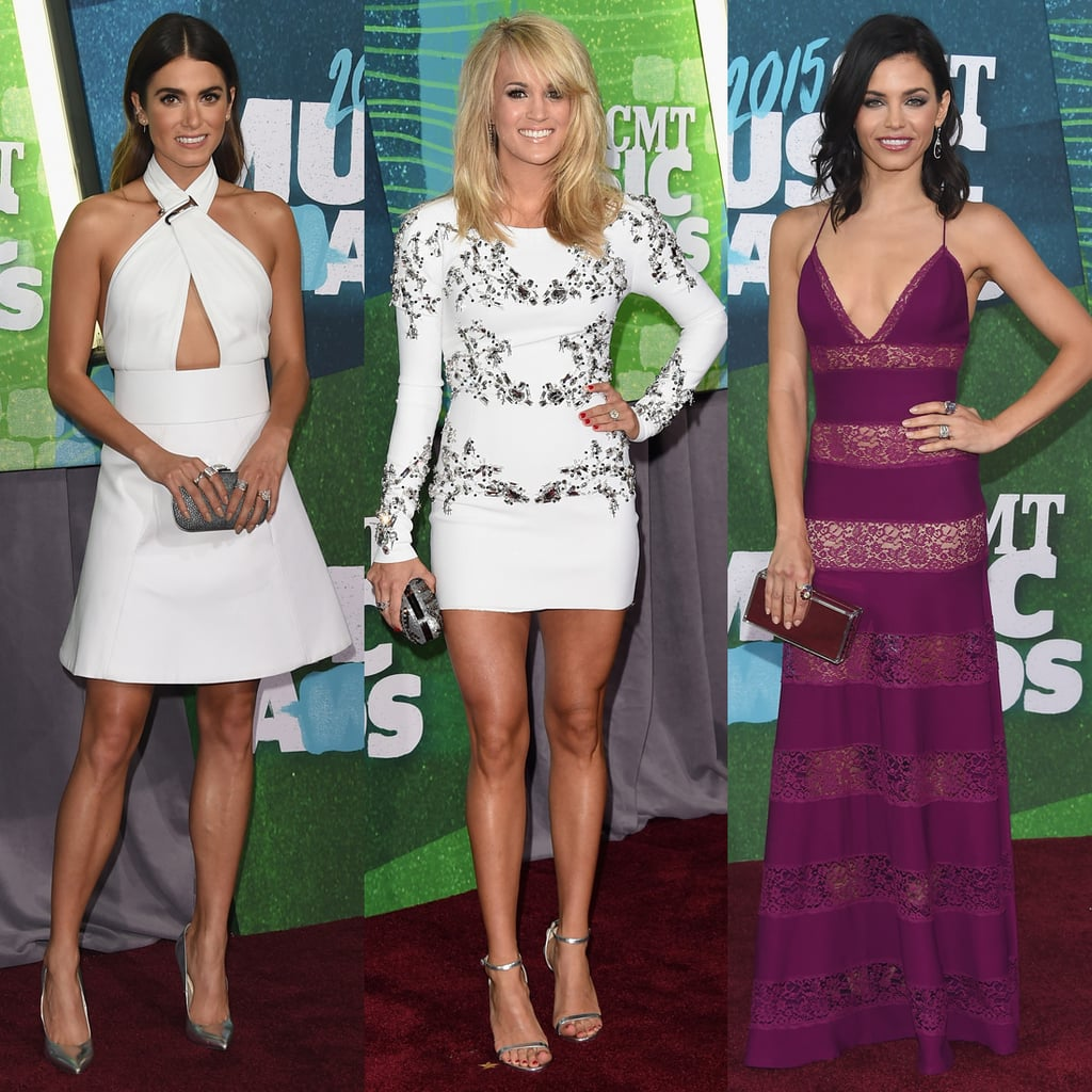 CMT Music Awards Red Carpet Dresses 2015