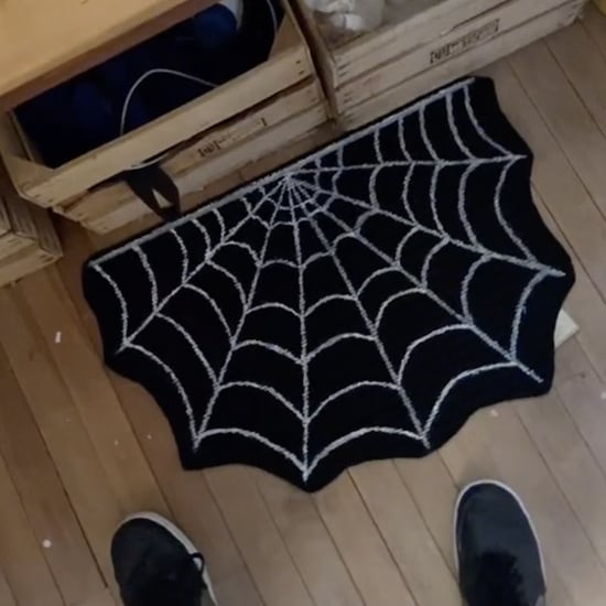 How to Make the DIY Dollar Tree Spider Web Rug From TikTok