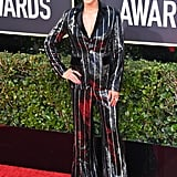 Sibley Scoles at the 2020 Golden Globes