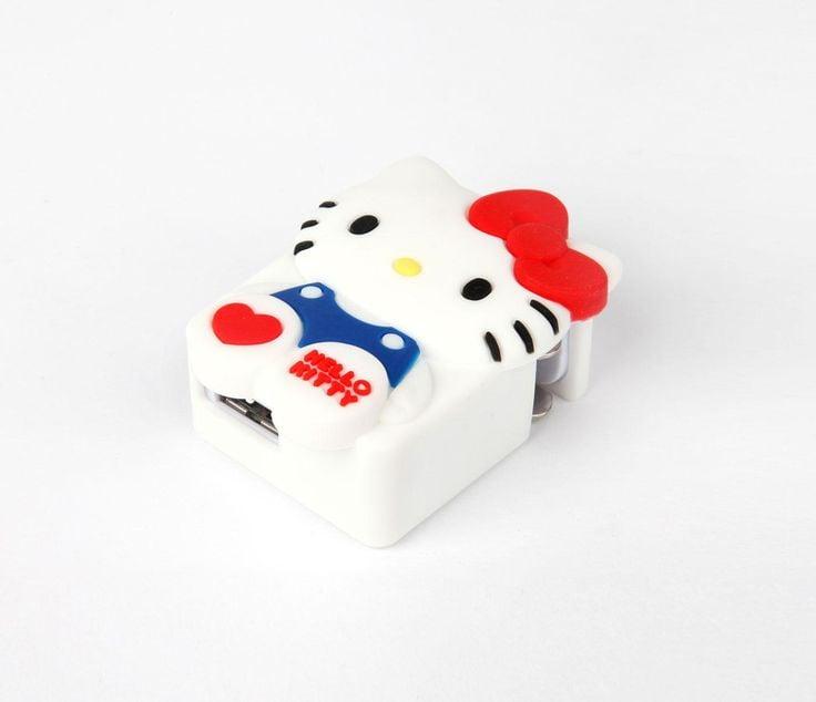 Hello Kitty USB Wall Charger ($30)