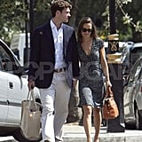 Pippa Middleton and boyfriend Alex Loudon.