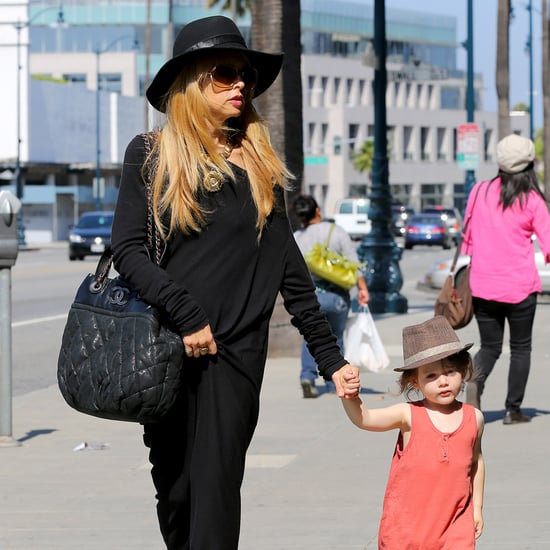 Rachel Zoe and Son Skyler in LA | Photos
