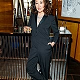 Sandra Oh at the 2019 Golden Globes Afterparty