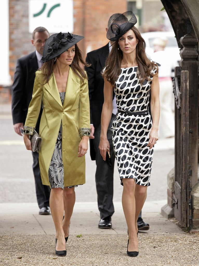 Kate and Pippa Middleton Dressing Alike