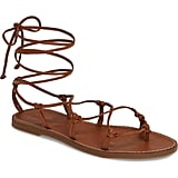 Madewell The Boardwalk Lace-Up Sandals