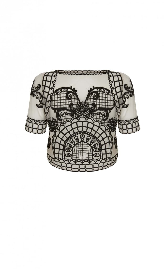 Temperley London Delphia Crop Top ($1,525)