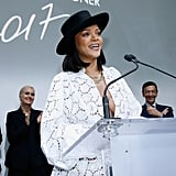 June: She Presented at the LVMH Prize Ceremony