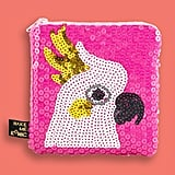 Make Me Iconic Cockatoo Sequin Purse ($20)