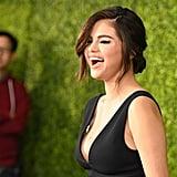 Selena Gomez's Purple Eye Shadow April 2019