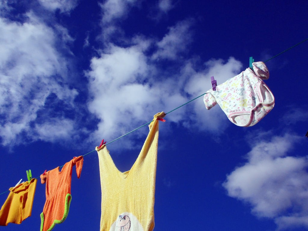 Consider drying in the sun.