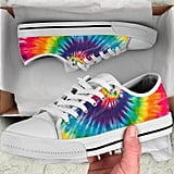 Etsy Colourful Tie-Dye Spiral Sneakers