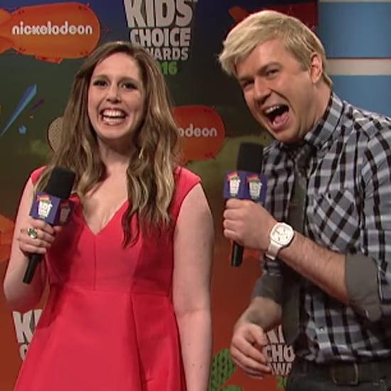 SNL's Kids' Choice Awards Skit