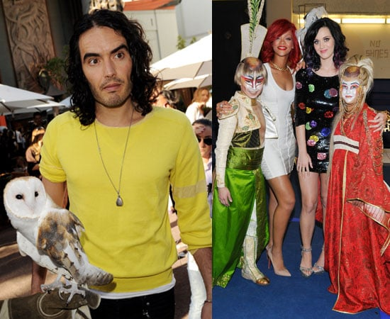 Katy Perry's Hen's Do, Russell Brand at Legend of the Guardians Premiere