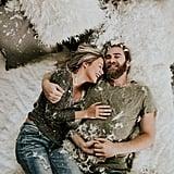 Cozy Engagement Photo Shoot in a Loft