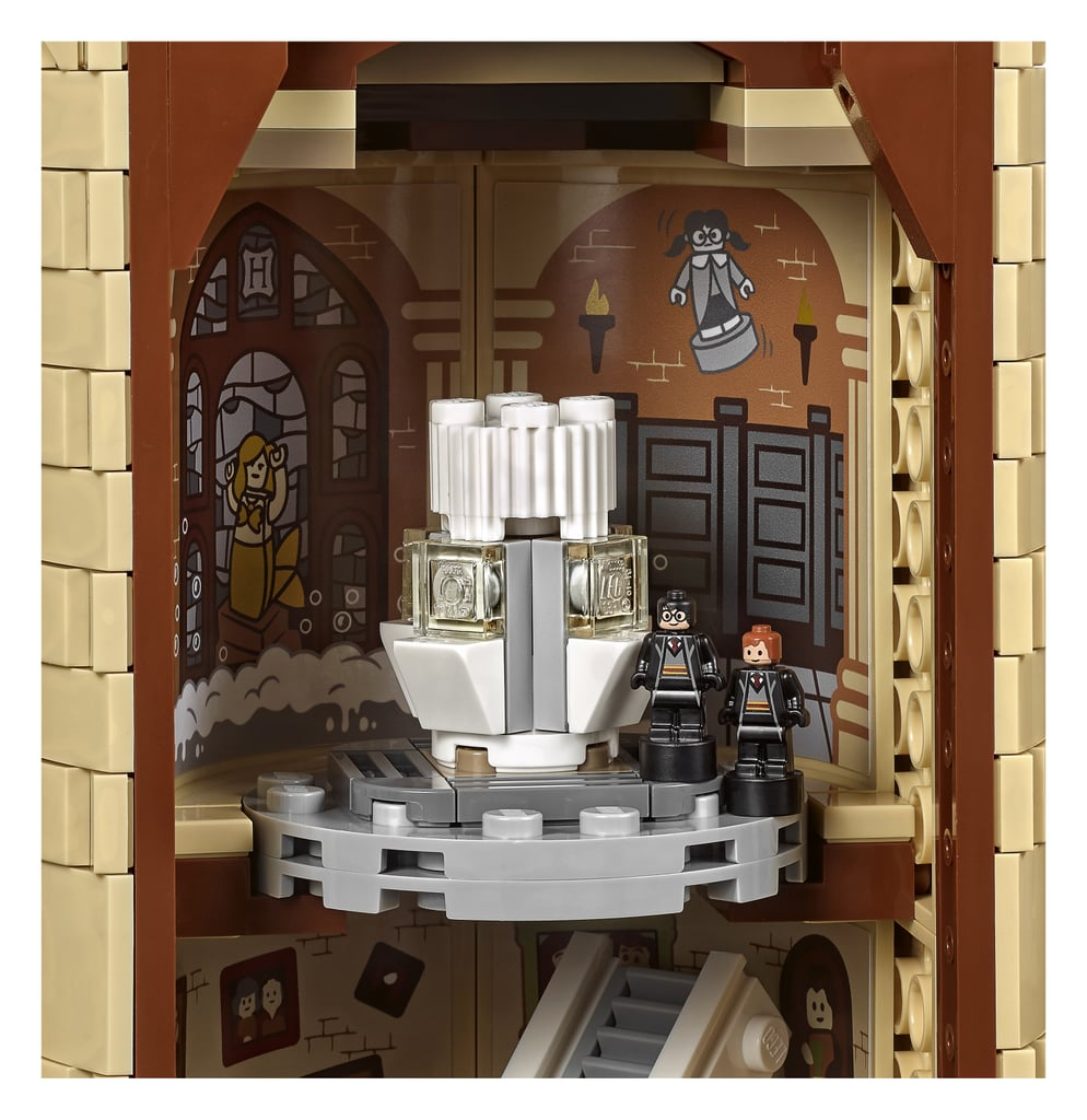 A look inside Moaning Myrtle's bathroom. | Lego Harry ...