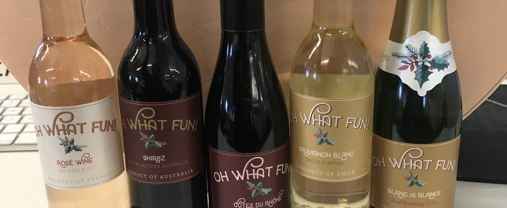 Holiday Wine Countdown Calendar at Kroger's