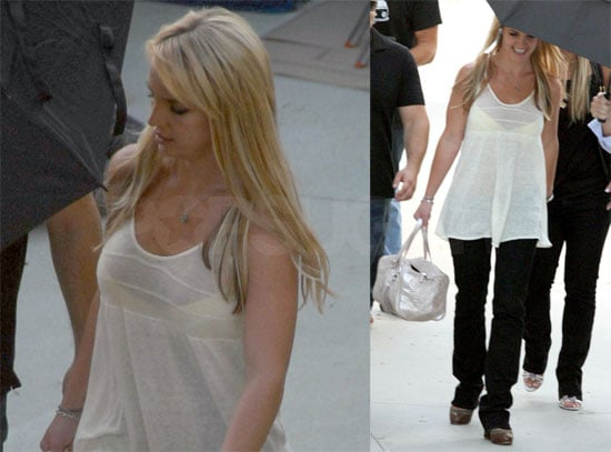 Photos of Britney Spears at Photo Shoot With Patrick Demarchelier