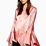 Topshop Satin Asymmetric Tunic