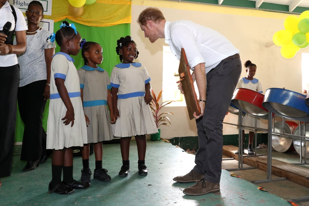 When He Engaged With Schoolgirls in Antigua