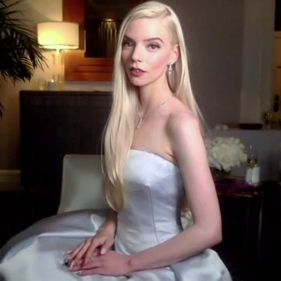 Anya Taylor-Joy's Best Moments at the 2021 Golden Globes