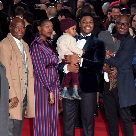 John Boyega's Family at The Last Jedi UK Premiere