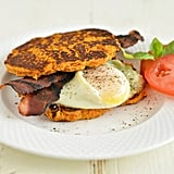 Bacon, Egg, and Sweet Potato Breakfast Sandwich
