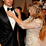 Josh Duhamel and Fergie in 2011